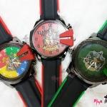 นาฬิกาข้อมือ ฮอกวอตส์และประจำบ้าน แบบสายผลิตจากยาง