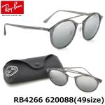 แว่นกันแดด RayBan Tech RB4266 620088 size 49mm กรอบพลาสติคสีเทา เลนส์ปรอทเทาไล่เฉด