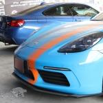 ชุดท่อไอเสียไทเทเนียม Porsche 718 Boxster (Titanium Exhaust Full System)