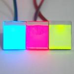 สวิตช์สัมผัส Touch Capacitive Switch พร้อมไฟในปุ่มสัมผัส สีน้ำเงิน