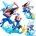 G.E.M. Series - Pokemon: Ash & Pikachu & Ash's Greninja Complete Figure(Pre-order)