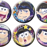 Osomatsu-san - Chara Badge Collection B 6Pack BOX(Pre-order)