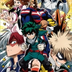 My Hero Academia 2018 Calendar(Released)