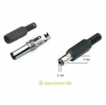 DC male Adapter Jack plug สำหรับ Arduiono 5.5 * 2.1mm