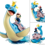G.E.M. Series - Pokemon: Ash & Pikachu & Lapras Complete Figure(Pre-order)