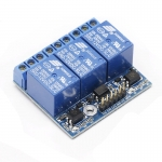 Arduino Relay Module 12V 3ช่อง HIGH Trigger 250V/10A