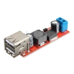 Dual USB output DC-DC Step Down Power Module 9V/12V/24V/36V to 5V USB 3A For Vehicle Charger