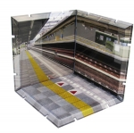 Dioramansion - Train Station Platform(Pre-order)
