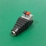DC female Adapter Jack plug 2.1 x 5.5 mm แบบหนีบ