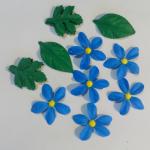 ดอกไม้กระดาษ6ดอก16ใบ