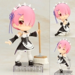Cu-poche - Re:ZERO -Starting Life in Another World- Ram Posable Figure(Pre-order)