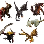 "Capcom Figure Builder ""Monster Hunter"" Standard Model Plus Rage Ver. Kai 6Pack BOX(Pre-order)"