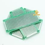 แผ่นปริ๊นอเนกประสงค์ ไข่ปลา สีเขียว คุณภาพดี Prototype PCB Board 3x7 cm
