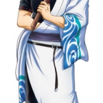 Gintama Season 4 - Life-size Wall Scroll: Gintoki Sakata(Pre-order)