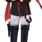 D.Gray-man HALLOW - Life-size Wall Scroll: Lavi(Pre-order)