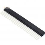 Female Pin Header Dip Straight Single Row 2.54mm 1*40Pin 12.2mm แบบยาว