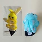 ตุ๊กตาหุ่นมือสอนคำศัพท์-กระต่าย