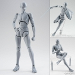 S.H. Figuarts Body-kun -Rihito Takarai- Edition DX SET (Gray Color Ver.)(Pre-order)