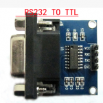 MAX3232 RS232 to TTL / Female Serial TTL / serial module / Brush board MAX3232 chip