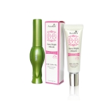 AuraRIS บีบีครีม ครีมกันแดด BB Face Cream SPF30 PA+++ - 10 ml. + Tanako Aloe Vera Eyeliner อายไลนเนอร์ ผสมเอสเซนซ์ ว่านหางจระเข้ 92% กันน้ำ อยู่ทนนาน เขียนขอบตาสวย คมกริบ บางเพียง 0.1 mm ขนแปรงนุ่ม