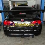 Honda Civic FD ใส่ท่อ Js fx-pro