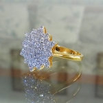 แหวนเพชรแท้(พร้อมส่ง)