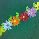ดอกรักเร่เดี่ยว 6ดอก+ใบ