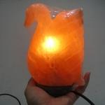 [โปรโมชั่น]โคมไฟหินเกลือภูเขาหิมาลัย รูปหงส์
