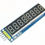 Eight digital tube module LED display Eight serial 595 drivers