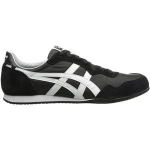 รองเท้าผ้าใบผู้ชาย Onitsuka Tiger Men's Serrano Shoes สีดำคาดขาว