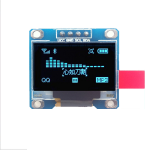 "OLED LCD LED Display Module 128X64 0.96"" For Arduino IIC สีน้ำเงิน"