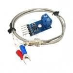 Temperature Sensor Probe with MAX6675 Module พร้อมThermocouple Type K 0-800 C