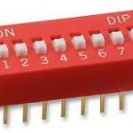 DIP switch ดิฟสวิทช์ 8P 2.54 mm
