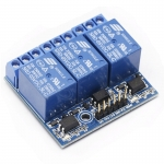 Arduino Relay Module 5V 3ช่อง HIGH Trigger 250V/10A