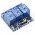 Arduino Relay Module 5V 3ช่อง HIGH Trigger 250V/10A