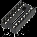 ซ็อคเกต socket 16 Pin DIP SIP IC Sockets
