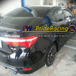 All New Toyota Altis ชุดท่อ Js fx-pro