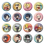 Can Badge Collection - NARUTO Shippuden: Arata na Jidai dattebayo! Hen 16Pack BOX(Pre-order)