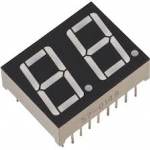 "0.56"" Common Anode 2Bit Digital Tube 7 segment Red LED Display"