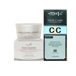 AuraRIS ครีมบำรุงผิวหน้า ครีมหน้าขาว ขาวสวยใส ลดสิว ฝ้า กระ จุดด่างดำ Whitening Face Cream 10 ml + Skin Care CC Cream SPF35PA++ ซีซีครีม ครีมพริตตี้ พร้อมกันแดด 35 เท่า