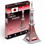 3D Puzzle Cubic Fun Tokyo Tower