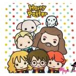 ผ้าเช็คหน้าแฮร์รี่ พอตเตอร์ ลายการ์ตูน แบบเดียวกับญี่ปุ่น