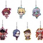 Uchuu Patrol Luluco - Trading Rubber Strap 7Pack BOX(Pre-order)