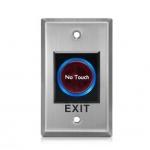 Exit Switch ปุ่มออกประตูคีย์การ์ด สแตนเลส แบบเหนี่ยวนำ 70mm*110mm