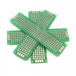 แผ่นปริ๊นอเนกประสงค์ ไข่ปลา สีเขียว คุณภาพดี Prototype PCB Board 2x8 cm