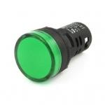 หลอดไฟสัญญาณ LED สีเขียว ขนาด 22 มม Light Indicator Signal Lamp AC/DC 12V