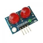 LED Module ไฟแสดงสถานะ 2 ดวง 10mm สีแดง สีแดง