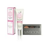 AuraRIS บีบีครีม ครีมกันแดด BB Face Cream SPF30 PA+++ - 10 ml. + Myboon ชุดแต่งคิ้ว ที่เขียนคิ้ว เนื้อครีม พร้อมแปรงปัด Eyebrow Powder 1กล่อง