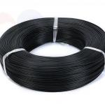 24AWG สายไฟอ่อน สีดำ ใส้เต็ม 1เมตร