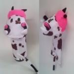 ตุ๊กตาหุ่นมือผ้าแบบมีเสียง-วัว